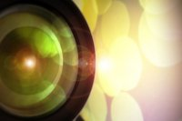 obiektyw aparatu fotograficznego